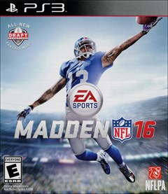 Madden NFL 16 PlayStation 3 Box Art