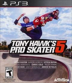 Tony Hawk's Pro Skater 5 PlayStation 3 Box Art