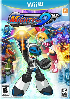Mighty No. 9 Wii U Box Art