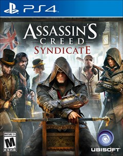 Assassin's Creed Syndicate PlayStation 4 Box Art