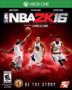 NBA 2K16 Xbox One Box Art