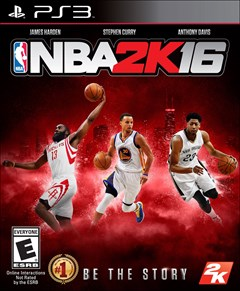 NBA 2K16 PlayStation 3 Box Art