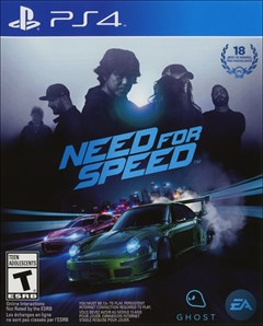 Need for Speed PlayStation 4 Box Art