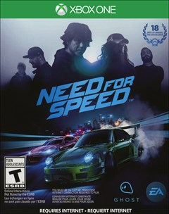 Need for Speed Xbox One Box Art