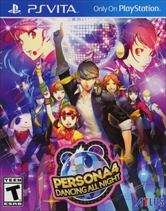 Persona 4: Dancing All Night PlayStation Vita Box Art