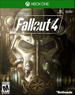 Fallout 4 Xbox One Box Art