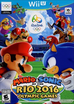 Mario & Sonic at the Rio 2016 Olympic Games Wii U Box Art
