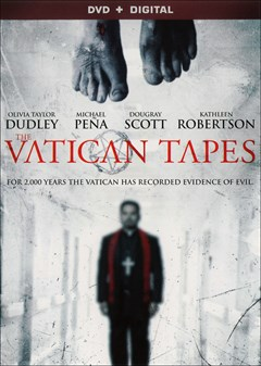 The Vatican Tapes DVD Box Art