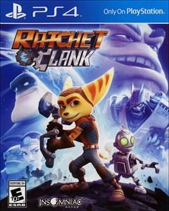Ratchet & Clank PlayStation 4 Box Art