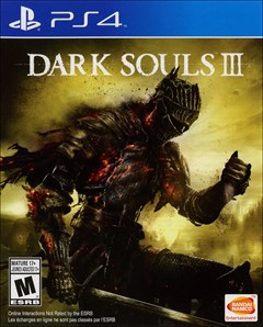 Dark Souls III PlayStation 4 Box Art