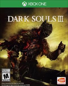Dark Souls III Xbox One Box Art