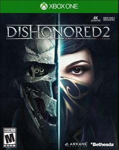 Dishonored 2 Xbox One Box Art