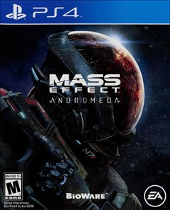 Mass Effect Andromeda PlayStation 4 Box Art