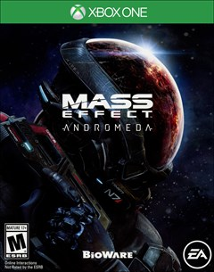 Mass Effect Andromeda Xbox One Box Art