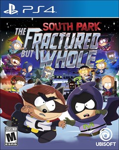 South Park: The Fractured But Whole PlayStation 4 Box Art