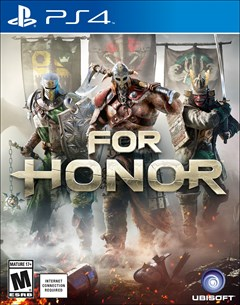 For Honor PlayStation 4 Box Art