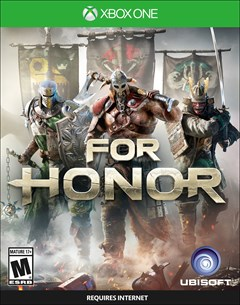 For Honor Xbox One Box Art