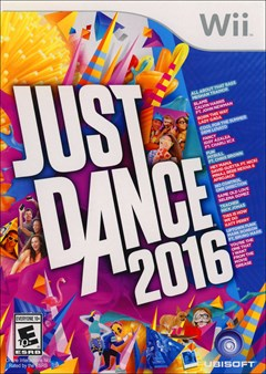 Just Dance 2016 Wii Box Art
