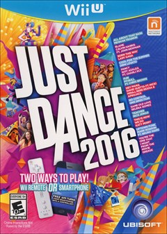 Just Dance 2016 Wii U Box Art