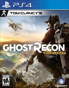 Tom Clancy's Ghost Recon: Wildlands PlayStation 4 Box Art