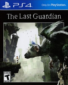 The Last Guardian PlayStation 4 Box Art