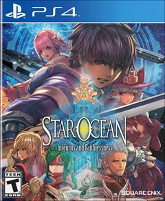 Star Ocean: Integrity and Faithlessness PlayStation 4 Box Art