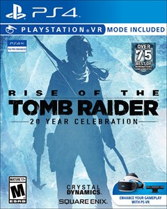 Rise of the Tomb Raider: 20 Year Celebration PlayStation 4 Box Art
