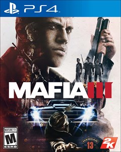 Mafia III PlayStation 4 Box Art