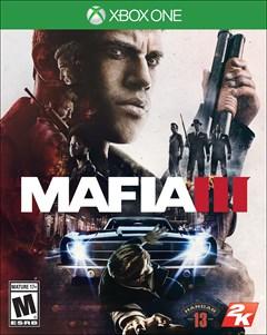Mafia III Xbox One Box Art