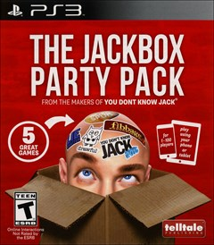 The Jackbox Party Pack PlayStation 3 Box Art