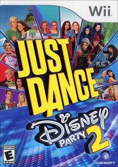 Just Dance: Disney Party 2 Wii Box Art
