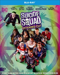 Suicide Squad Blu-ray Box Art