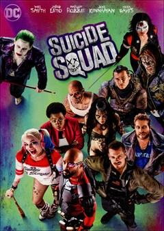 Suicide Squad DVD Box Art