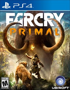 Far Cry Primal PlayStation 4 Box Art