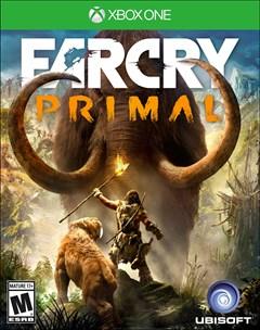 Far Cry Primal Xbox One Box Art