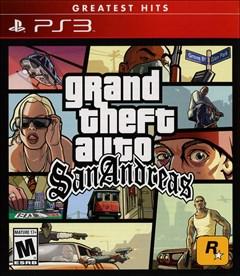 Grand Theft Auto: San Andreas PlayStation 3 Box Art