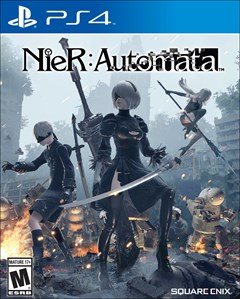 Nier: Automata PlayStation 4 Box Art