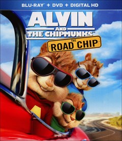 Alvin and the Chipmunks: The Road Chip Blu-ray Box Art