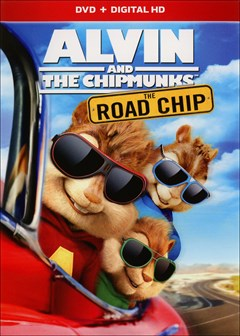 Alvin and the Chipmunks: The Road Chip DVD Box Art