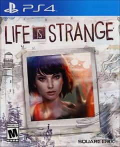 Life Is Strange PlayStation 4 Box Art