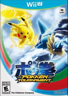 Pokken Tournament Wii U Box Art