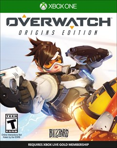 Overwatch: Origins Edition Xbox One Box Art