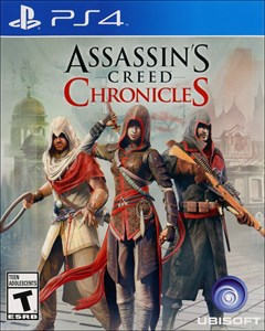 Assassin's Creed Chronicles PlayStation 4 Box Art