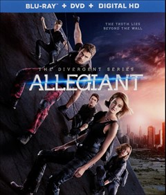 Allegiant Blu-ray Box Art