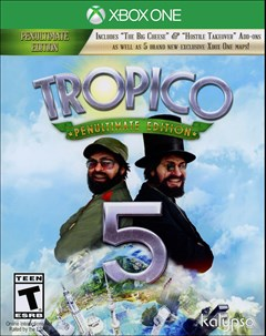 Tropico 5: Penultimate Edition Xbox One Box Art