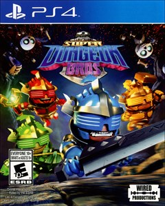 Super Dungeon Bros. PlayStation 4 Box Art