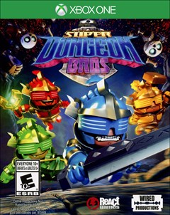 Super Dungeon Bros. Xbox One Box Art