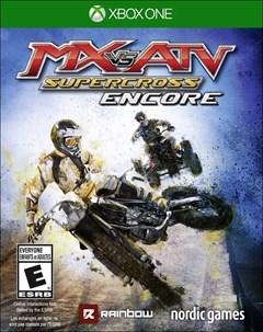 MX vs ATV: Supercross Encore Xbox One Box Art
