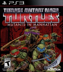 Teenage Mutant Ninja Turtles: Mutants in Manhattan PlayStation 3 Box Art