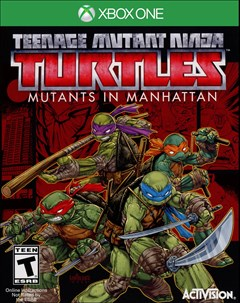Teenage Mutant Ninja Turtles: Mutants in Manhattan Xbox One Box Art